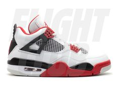 "air jordan 4 ""fire red"" retro · ""2012 release"""