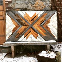 Teds Woodworking® - Woodworking Plans & Projects With Videos - Custom Carpentry Reclaimed Wood Wall Art, Wooden Wall Art, Wooden Walls, Barn Wood, Diy Wood, Diy Pallet Projects, Wood Projects, Woodworking Projects, Woodworking Clamps