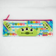 Disney Toy Story Little Green Men 21cm soft pencil case (Made in Japan)