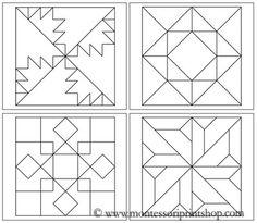 Free Printable String Art Patterns | Geometric Art Patterns Set 3 - Printable Montessori Art lessons for ...