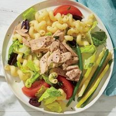 Cavatappi Salad with Tuna and Olives Recipe