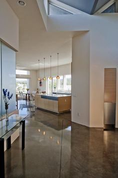 Polished Concrete Floor Design Ideas Pictures Remodel And Decor Kitchen