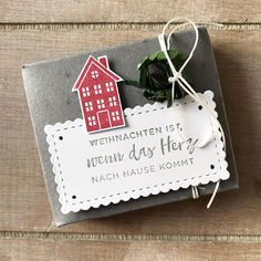 Christmas Gift Tags, Christmas Ornaments, Advent, Holiday Decor, Die Cutting, Christmas, Creative, House, Christmas Jewelry
