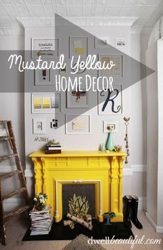 Hot Color Trend: Mustard Yellow | Dwell Beautiful