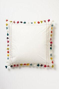 Lindi Fringe Euro Sham, want this for Laney's big girl bed