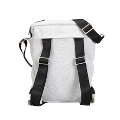 Nava - Square Backpack Gray