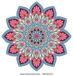 Mandala Art Lesson, Mandala Drawing, Pottery Painting Designs, Pen Art, Flower Mandala, Fractal Art, Doodle Art, Architecture Art, Illustration