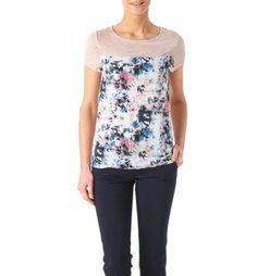 T-shirt fleuri Femme