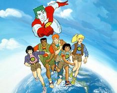 #Captain #Planet - You know, I think the world would benefit if we brought this show back. Go, Planet!