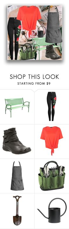 """""""Hobby Series: """"Flower Child""""-Like, Literally"""" by littlemisshorovedy ❤ liked on Polyvore featuring Clarks, Boohoo, The Organic Company, Picnic at Ascot and Grasslands Road"""