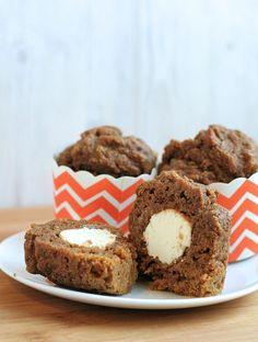 Pumpkin Spice Cream Cheese Muffins 3