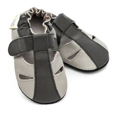 Baby Sandals, Baby Shoes, Barefoot, Leather Sandals, Soft Leather, Ankle Strap, Fashion, Moda, Fashion Styles
