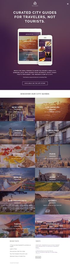 TRIPLAGENT: CURATED CITY GUIDES FOR TRAVELERS, NOT TOURISTS.
