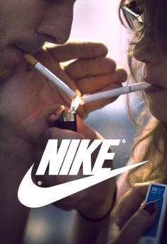Nike logo appropriated for Tumblr users' DIY adverts