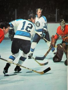 Penguins vs. Canadiens, late 1960's?