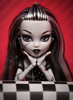 Monster High Doll - Frankie Stein     For all the little punks who like dolls that aren't barbies ;)