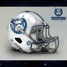 Mix NFL & Star Wars Helmet by Mexican Designer John Raya - Storm Troopers - Indianapolis Colts