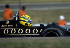 #12 Ayrton Senna...John Player Special Team Lotus...Lotus 98T...Motor Renault EF15B V6 t 1.5...GP Alemania 1986
