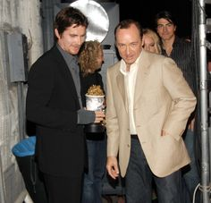 Kevin Spacey and Christian Bale, MTV Movie Awards, 2006