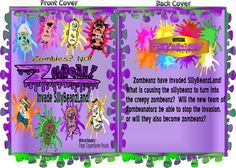 http://It's not zombies that have invaded SillyBeanzLand. Some sillybeanz have turned into zombeanz! What are the newly formed Zombeanators going to do about those nasty zombeanz? Will they save SillyBeanzLand or turn into zombeanz themselves? Find out in this silly thriller!</a