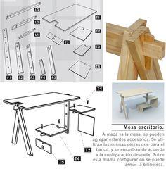 custom wood modular furniture