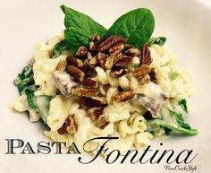 Pasta Fontina...You are going to LOVE this recipe! Hubby was very happy...recipe from The CattleQueen Cooks at PineCreekStyle