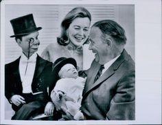 Vintage 1961 Edgar Bergen w Wife Charlie McCarthy Baby Son Press Photo | eBay