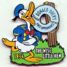 Pin 394: DS - Countdown to the Millennium Series #49 (Donald Duck First Appearance)