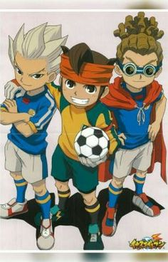 Axel Blaze, Mark Evans e Jude Sharp. Super 11, Anime Manga, Anime Guys, Inazuma Eleven Axel, Inazuma Eleven Strikers, Galactik Football, Jude Sharp, Tiger Mask, Shugo Chara