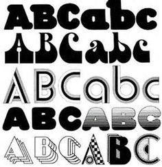 70's Fonts 1