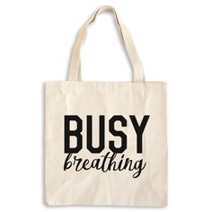 Busy breathing - Yoga tote