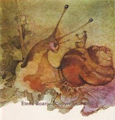 Elena Boariu. The magic world of her drawings