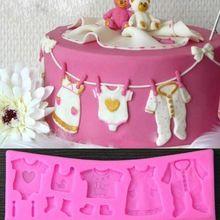Panno del bambino silicone 3d fondente della muffa della torta che decora attrezzo del bigné della muffa(China (Mainland))
