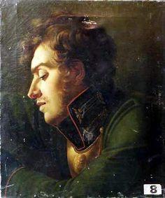 Anonymous, Soldat de l'Empire [Soldier of the Empire], 19th century. Oil on canvas, 64.5 x 54 cm. Musée Max Claudet, Salins-les-Bains.