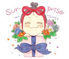 스티커 이미지 Jung So Min, Moon Cake, Free Pattern, Minnie Mouse, Disney Characters, Fictional Characters, Snow White, Crochet Patterns, Stickers