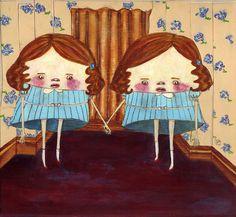 grady twins by helloashrey, via Flickr