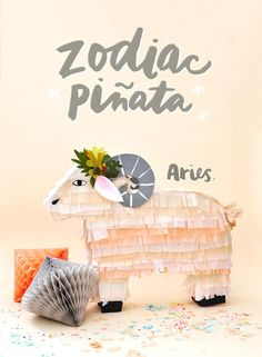 Baby Shower Bliss- Zodiac piñata tutorials from The House That Lars Built. (Tutorial)