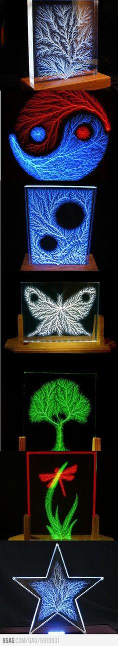 Lighting perspex
