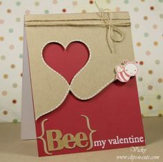 The 40 Best Handmade Cards Valentine Images On Pinterest