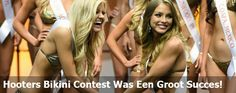 De Hooters bikini Contest was een groot succes! En we hebben een winnaar!
