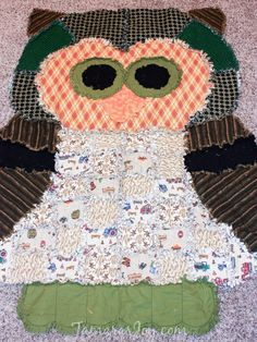 Over 20 Animal Rag Quilt patterns listed here. From puppy dog rag quilt patterns to owl rag quilt patterns you will find your animal rag quilt pattern here! Easy Sewing Projects, Sewing Crafts, Sewing Ideas, Rag Quilt Instructions, Rag Quilt Patterns, Baby Rag Quilts, Baby Shower Crafts, Animal Projects, Baby Owls