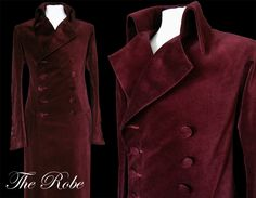 THE ROBE - from pimpernel clothing. Another must have for the aspiring Gorgeous Georgian Gentleman.