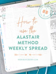 Curious about the Alastair Method and how I'm using it to manage weekly tasks in my Bullet Journal? 🤔  I've got a new blog post explaining it all! 💜  Hop on over and check them out, and don't forget to say hi 👋🏻 while you're there 🥰