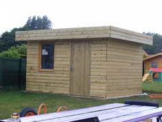 construction de mon abri de jardin - L'atelier de Zep Plan Carport, Shed Plans, Laminate Flooring, Home Remodeling, Outdoor Structures, Architecture, House Styles, Building, Design