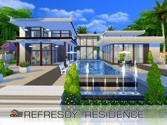 The Sims Resource: Refesdy residence by Autaki • Sims 4 Downloads