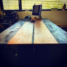 Desk, Furniture, Home Decor, Textiles, Steel, Timber Wood, Desktop, Decoration Home, Room Decor