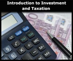 ALISON Free Online Courses: Introduction to Investment and Taxation