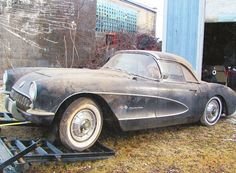 1957 Fuelie Barn Find #Corvette