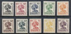 Dahomey 1941 Postage Dues MLH
