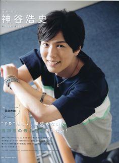 Kamiya Hiroshi  神谷さんはこの髪型が一番好き...